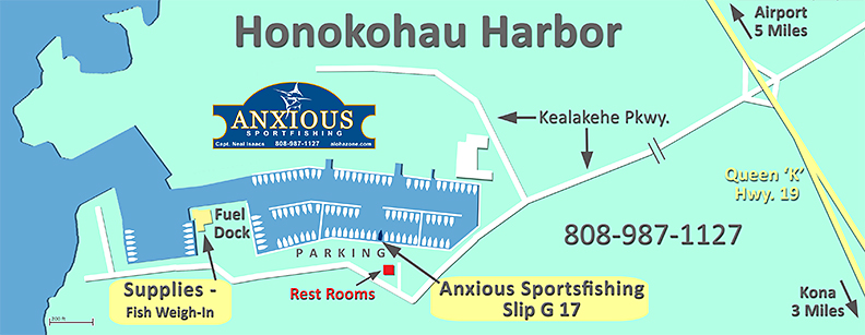 Map-Honokohau Harbor